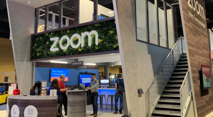 zoom booth